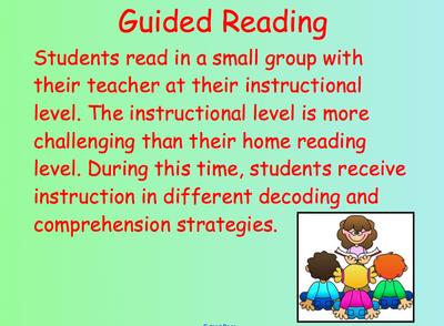 Guided Reading Slide